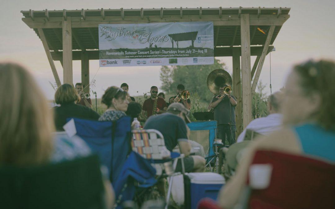Rhythm & Blooms Concert Series in Havenwoods to Happen this Summer!